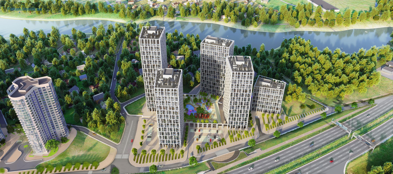 Жилой комплекс Славутич_панорама 1