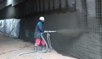 Торкрет-бетон и область его применения