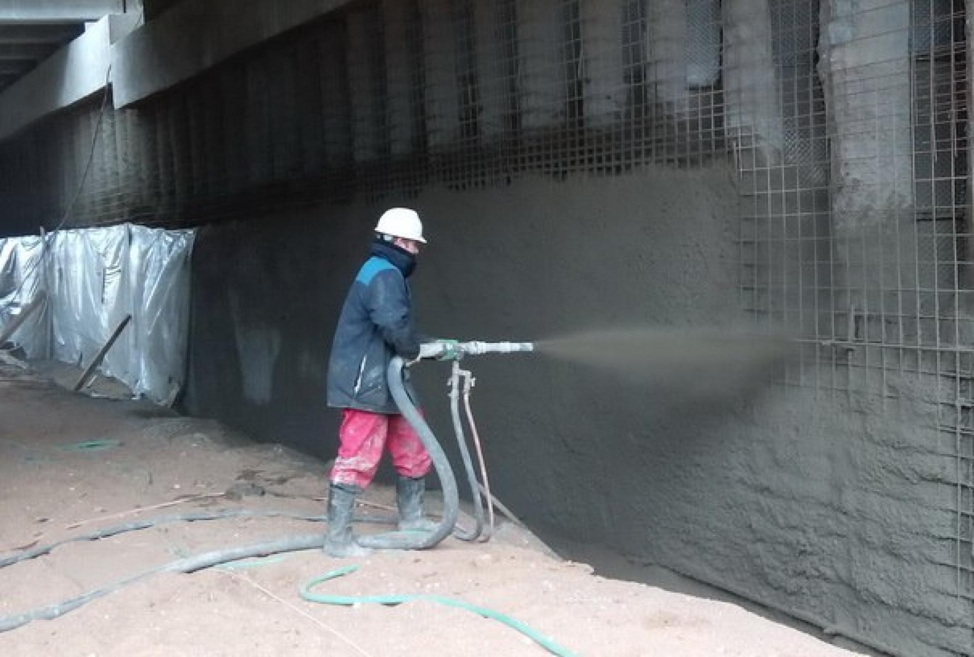 Торкретировании бетона куплю бетон в новороссийске