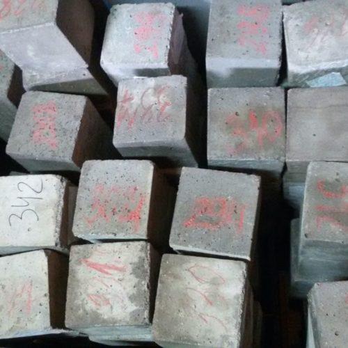 Качество изготовления образцов для тестирования бетона