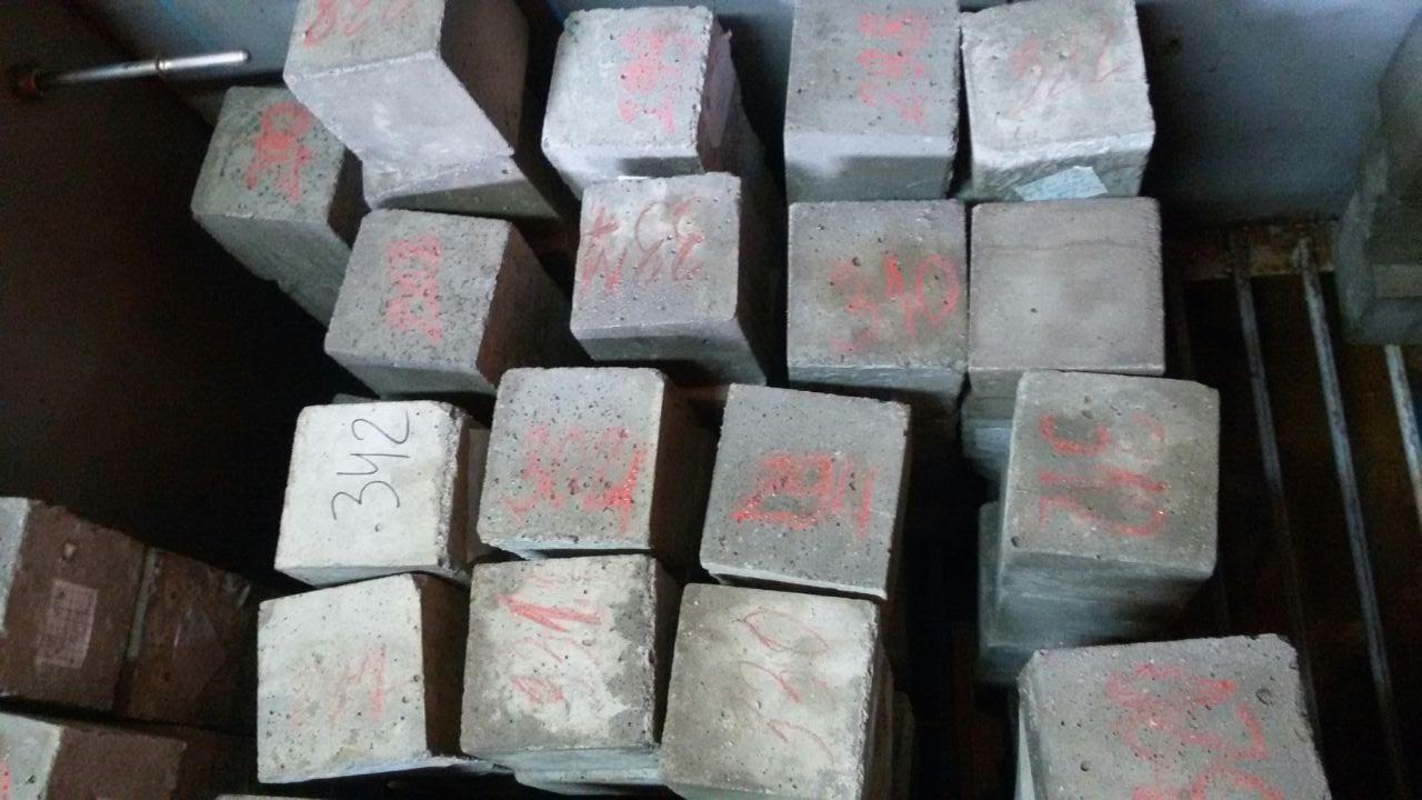 Изготовление образцов бетона отлив бетона