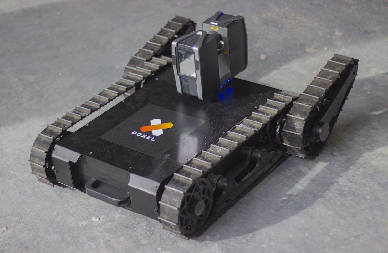 Очень просто теперь стало контролировать скорость и качество работ при строительстве с помощью робота Doxel