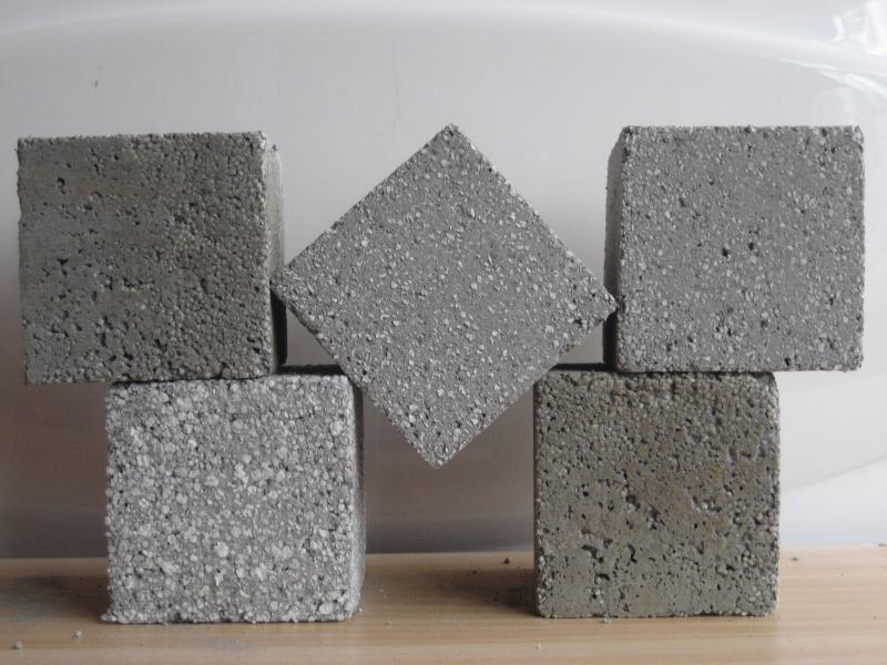 Образец бетона утеплитель керамзитобетон