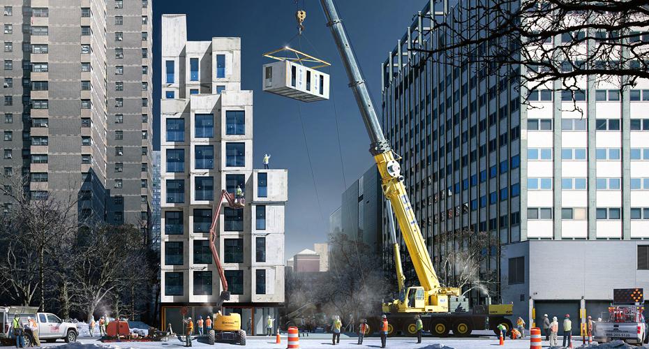 Новые тренды строительства