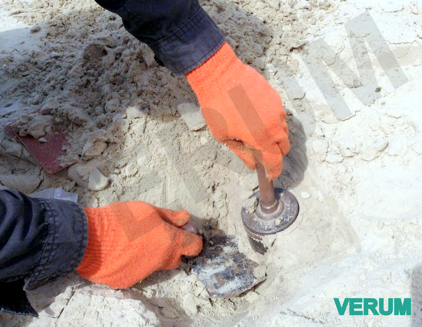 Определение плотности грунта, объект Ашан, ул.Здолбуновская, Киев