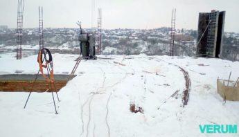Прогрев бетона в зимний период